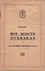 Report on Boy Scouts Overseas